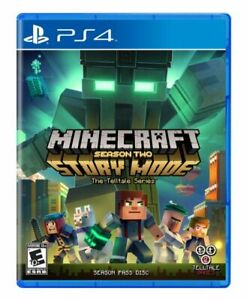 Minecraft Story Mode Season Two PlayStation 4 2017 PS4 Brand New Factory Sealed