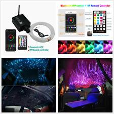 12V 16W Car Roof Star Lights RGBW LED Plastic Fiber Optic Ceiling Sky Decoration