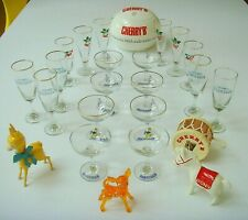 More details for collection of babycham, cherry b and snowball glasses and bar memorabilia.