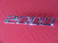 """ALFA ROMEO SPIDER 70 - 82 la scritta"""" 2000"""" 105126129000 NUOVO"""