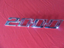 "Alfa Romeo Spider 70 - 82 Schriftzug "" 2000 "" 105126129000 NEU"