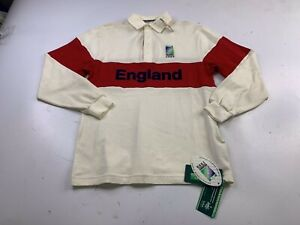 NWT England Irb Rugby World Cup 1999 Shirt Jersey St Micheal Marks Spencer