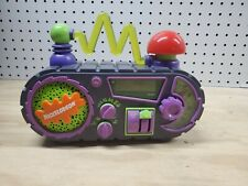 1995 Nickelodeon Time Blaster Slime Digital AM FM Clock Alarm Radio WORKING