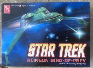 Klingon Bird of Prey, Star Trek, AMT664, AMT