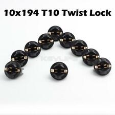 10x 194 Instrument Panel Cluster Led Bulb 13mm Holder Socket Plug For Chevy