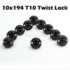 10x 194 Instrument Panel Cluster Led Bulb 13mm Holder Socket Plug For Chevy