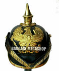 Pickelhaube Officer's German Leather Prussian Helmet Imperial Without Stand