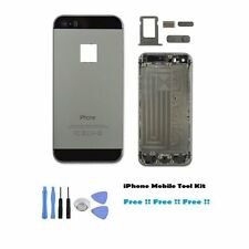 IPHONE 5S REPLACEMENT BACK REAR HOUSING BATTERY CHASSIS COVER SPACE GREY / BLACK