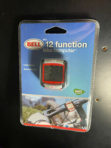 BELL Bicycle Bike Computer 12 Function Large Display BRAND NEW FACTORY SEALED