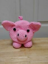 Pig Toilet Paper Cover Handmade Bathroom Accessory White Elephant Gift