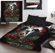 Forevermore-Parure de lit pour nous / roi royaume-uni lit de taille Queen lit par Linda M Jones