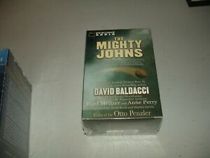 The Mighty Johns & Other Stories - Baldacci & Meltzer (Cassette, 2002) Brand New