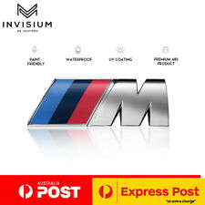 BMW M Sport 3D Chrome Adhesive Car Sticker Decal Emblem Badge M3 M5 M6 X3 X5 X1