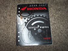 2006 2007 Honda TRX90 TRX 90 ATV 4 Wheeler Original Service Repair Shop Manual