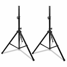 2 X Heavy Duty Aluminium PA Speaker Stands DJ Rehearsal Live DP Stage SS350 Pair
