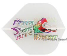 "6 Flights Red Dragon ""PETER WRIGHT"", Snakebite, transparent - versandkostenfrei"