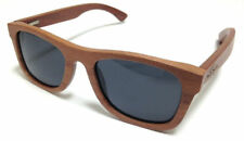 Wooden Sunglasses in Heritiera Wood With Soft Leather Case by Essygees