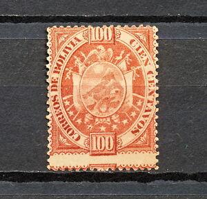 NNBH 170 BOLIVIA 1894 MH PERF 14 1/2 ERROR