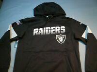 Nike Oakland Las Vegas Raiders Sideline MEDIUM BRAND NEW Hoodie on field NWT