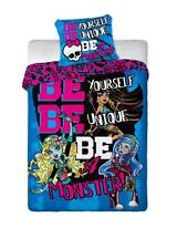 Monster High Uni Bed Cover 160x200 Neu ökotex Cotton Be Unique Be a Monster