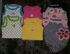3m 3 months Carter's just one year Baby Girl Lot of assorted 6