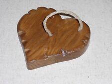 Lot de 2 ronds de serviette Coeur Blanc Bois Campagne romantique Shabby Chalet