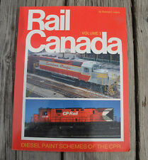 SC Book RAIL CANADA VOLUME 2 DIESEL PAINT SCHEMES Canadian National CN Lewis