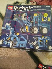 Lego Vintage Technic Pneumatic System Set #8042 With Box, Instructions