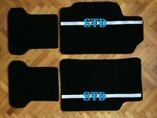Fit For Compatible with CRX EC ED EF SI Hatchback Floor Mats Carpet Black 4pcs