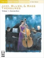 Jazz, Blues & Rags Treasures - Volume 3, New, Various Book
