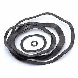 M6-M130 Wave Washer Spring Washers Spacers Carbon Zine-Plated Black Zine