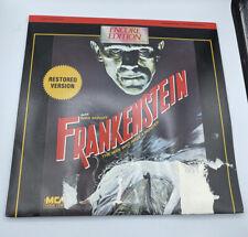 Frankenstein Laserdisc Encore Edition Boris Karloff