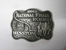 "2013 Hesston National Finals Rodeo ""adult"" Belt Buckle"
