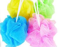 4 Pcs Body Scrubber Wash Skin Spa Meshy Nylon Shower Bubbles Bath Puffs Bn-17565