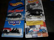 4 LOT HOT WHEELS LIMITED EDITIONS AUBURN CORD MUSEUM CADILLAC BRACHS FRED MEYER