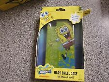 BRAND NEW SPONGEBOB SQUAREPANTS HARD SHELL CASE IPHONE 4 4S SAKAR NICKELODEON