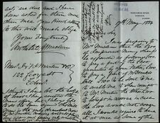 More details for 1884 pennycross house, carsaig, isle of mull, letter archibald maclean