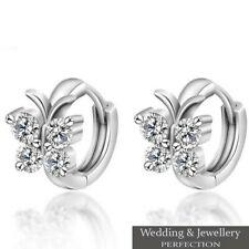 Girls 925 Sterling Silver Butterfly Earrings Childrens Kids Jewellery Jewellery