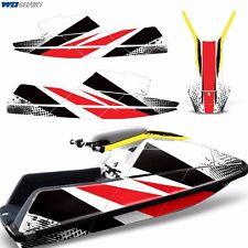Decal Graphic Kit Yamaha Superjet Ski Wrap Jetski Super Jet Parts SQUARE Nose RS