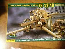 RARE- ACE 72226 1/72 canon allemand WW2 FH18-40+canon metal