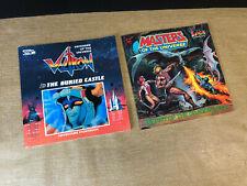 Motu Secret of the Dragon's Egg & Voltron The Buried Castle Vtg Books 80s
