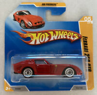 2009 Hotwheels Ferrari 250 GTO Red! Mint! MOC!