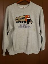 Vintage Roadway swetshirt safety achievement sz XL