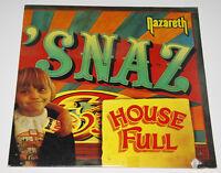 "Nazareth 'Snaz A&M Records  SP 6703 - US 1981 OIS 2xVinyl 12"" LP RARE Near Mint"