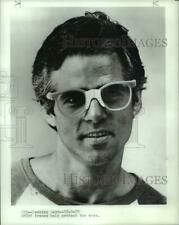 1979 Press Photo Man wearing athletic safety glasses - pia00881