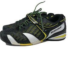 Babolat Men's Michelin Kompressor Black Yellow Tennis Shoes Size 12.5