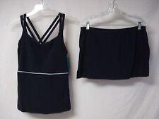 NWT Women's USA Made Penbrooke 2 Piece Tankini Swimwear Size 8 Navy #644J