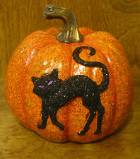 """Halloween #J4316B PUMPKIN, 6.5"""" resin NEW from our Retail Store, Transpac"""