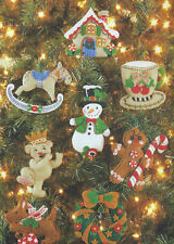 Bucilla  Christmas Collection  Felt Ornaments Kit - Mary Engelbreit