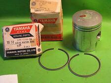 YAMAHA YDS5 250 YM2C 1967 PISTON AND RINGS 1ST.OS. OEM 156-11635-00-00/156-11601